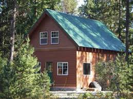 one story cabin plans 20 wide 1 1 2 story cottage w loft