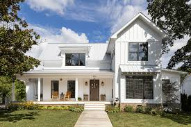 Painting Wood Windows White Inspiration 25 White Exterior Ideas For A Bright Modern Home Freshome