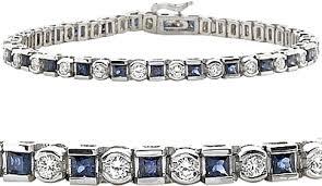 gold sapphire bracelet images 18k white gold 5 10ctw diamond sapphire bracelet scsb222 png