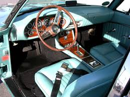 Car Interior Renovation Freshly Redone Interior With Walnut Grain Dash And Wood Grain