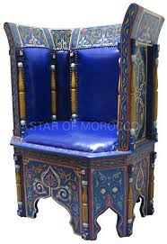 Moroccan Chair Moroccan Style Leather Chairs