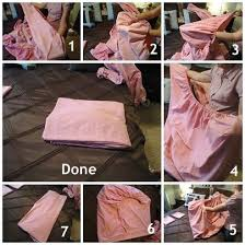 Folding Bed Sheets Organizing Your Linen Closet Part 2 How To Fold A Fitted Sheet