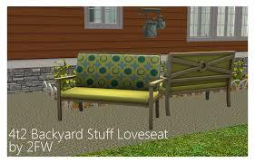4t2 backyard stuff loveseat two fingers whiskey