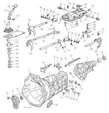 ford ranger 5 speed transmission parts