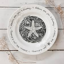 personalized wedding plate unique coastal wedding gift ideas personalized pottery