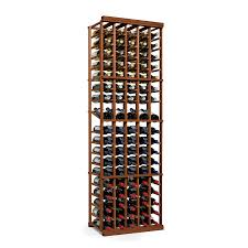 furniture oak wine cellar racks with wooden storages and