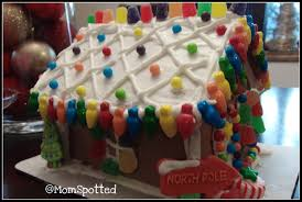 wilton u0027s pre baked gingerbread house kit is so much fun momspotted