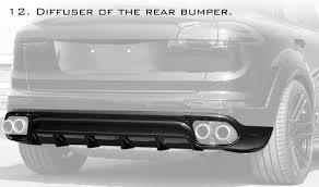 Porsche Cayenne 958 Body Kit - tuning porsche cayenne 2015 gt topcar