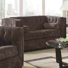 amazon com coaster home furnishings transitional loveseat