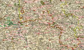 Map Of Wales England by Georeferencing To Town And Village Locations William Smith U0027s