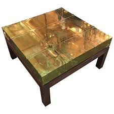 brass coffee table by sarreid ltd of spain for sale at 1stdibs