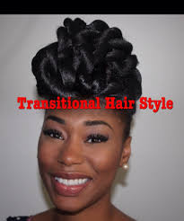 Hair Extensions For Updos by Protective Style Hair Updo For Natural Transitioning And