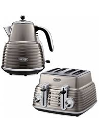 Brushed Stainless Steel Kettle And Toaster Set Small Appliances Euronics Ireland