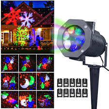 Christmas Decorations Outdoor Projection by Christmas Laser Light Newest Version Ucharge Snowflake Led