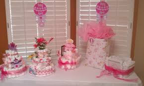 baby shower centerpieces for tables tables chairs pink linens baby shower royalty rentals