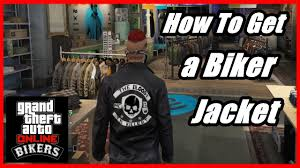 mc jacket gta 5 how to get a biker jacket youtube