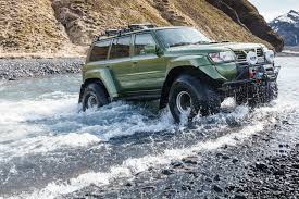 nissan safari off road wallpaper car nissan river iceland jeep crossing outdoor