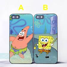 spongebob patrick star best friend couple case for iphone 7 6s 6