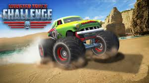 monster truck game video monster truck games offroad hill dash racing android apps on