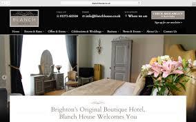 website design for blanch house u2013 oli pyle