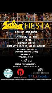 poster k che salsa at uncw feb 4 2017 salsawiz productions