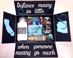gifts for boyfriend distance relationship box pinteres