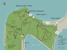 Southwest Michigan Map by Sleeping Bear Dunes Maps Npmaps Com Just Free Maps Period