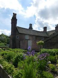 view from the walled garden picture of astley hall chorley