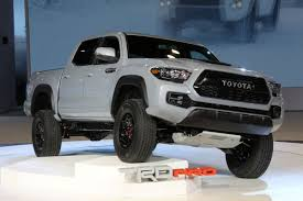 Tacoma Redesign 2017 Toyota Tacoma Trd Gets Unveiled At Chicago Auto Show