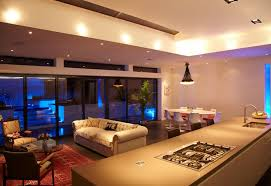 led lighting for home interiors living room modern design of led for living room blue led