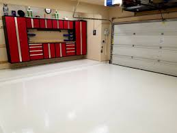 Rock Solid Garage Floor Reviews by White Garage Floor Coating Polyurea Garage Flooring Llc