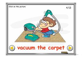 household chores ppt worksheet free esl projectable worksheets