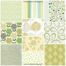 wallpaper interior design spring greens 10 green wallpaper decorating ideas cosy home blog