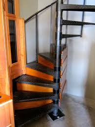Radius Stairs by Storage In Spiral Staircase Interior Inspiration Pinterest
