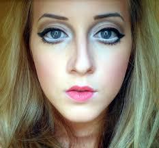 halloween barbie halloween makeup real life barbie