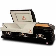 official major league baseball casket st louis cardinals