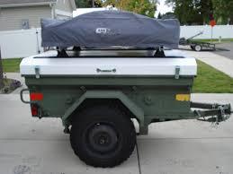 m416 trailer picked up my cdn m101 trailer toyota fj cruiser forum