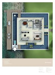 Villa Floor Plan by Nurai Water Villa Floor Plans Nurai Island Abu Dhabi Uae