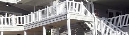 vinyl deck railing by durables decksdirect