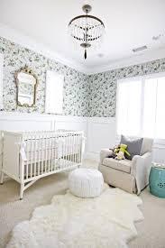 Wallpaper Borders Uk For Bedroom Fascinating Wall Ideas Nursery A Nursery Cloud Modern Nursery