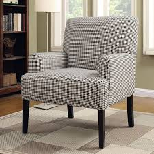 furniture of america bessia modern patterned accent chair free