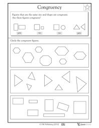 Similar And Congruent Figures Worksheet Free Congruent Shapes Worksheets Mreichert Worksheets