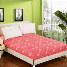 kids bedding girls pink fitted sheet home textile red bed sheets