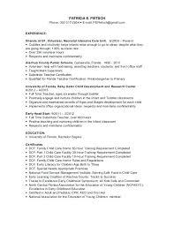 nanny resume exle nanny experience on resume nanny resume template luxury nanny resume