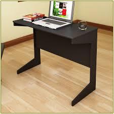 Computer Desk In Black Slim Computer Desk With Huge Variants Of Design Homesfeed