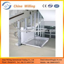 top selling curved stair lift inclined wheelchair lift for
