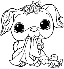exclusive lps colouring pages 5 pet shop coloring pages free