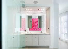 dishy modern white bathrooms with wall faucet rainshower