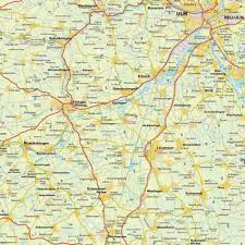 Bavaria Germany Map by Map Of The Greater Neu Ulm Area Bavaria Bayern Germany Maps