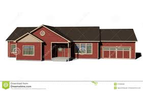 ranch house red royalty free stock photos image 27969688